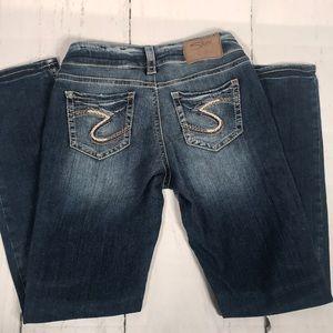 Silver Jeans. Suki Super Stretch-  Size 26